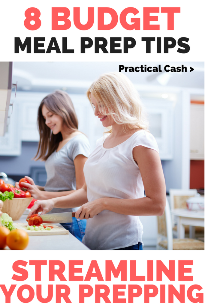 Meal prep saves you $$$ 8 Budget Meal Prep Tips #savemoney #frugalliving #budgeting #mealprep #mealplanning #mealprepmonday