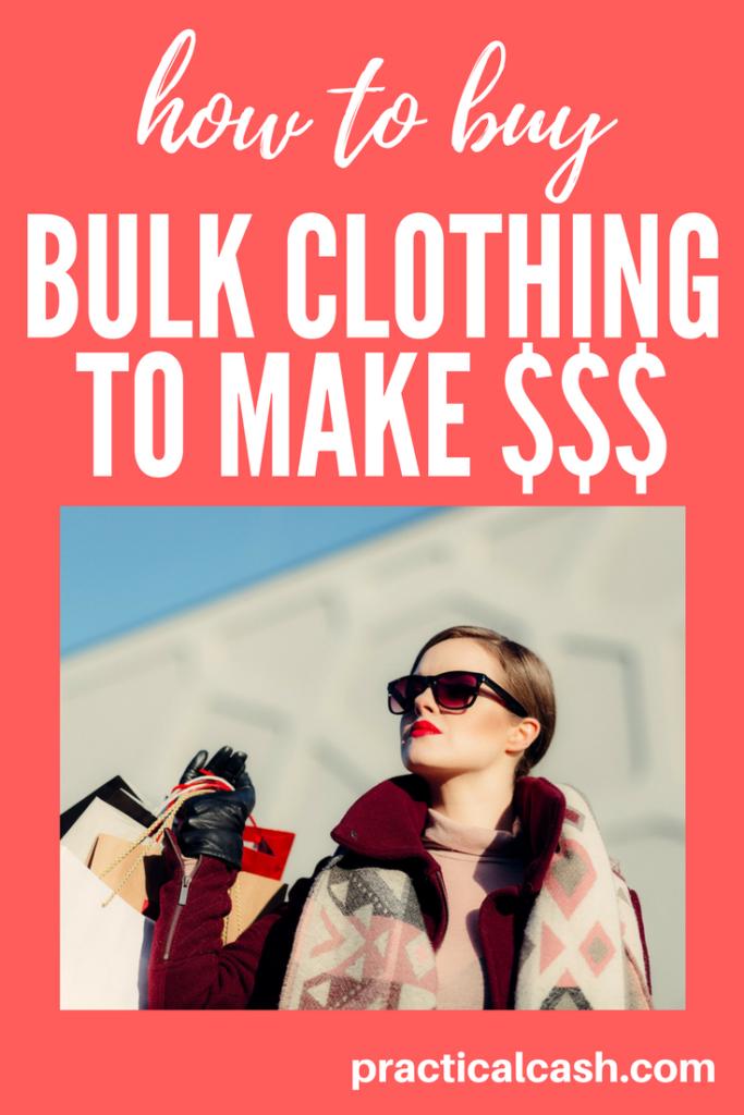 make money selling clothing wholesale