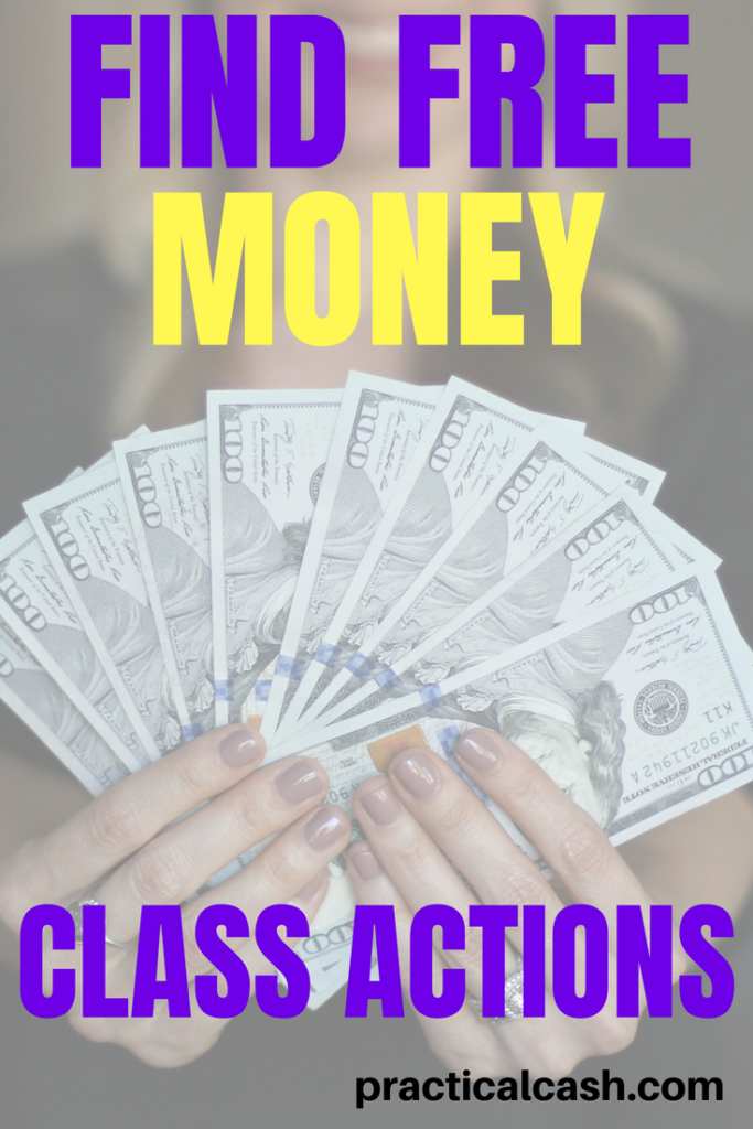 Free money from class actions - what are they? How can you get some free money? #freemoney #makemoney #makemoneyonline #sidehustle