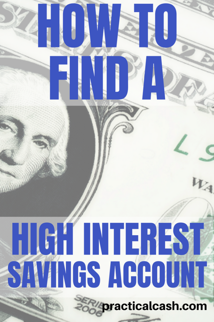 Make more money with your money! Tips on finding a high interest savings account #money #savemoney #savings #emergencyfund #frugalliving #moneysavingtips