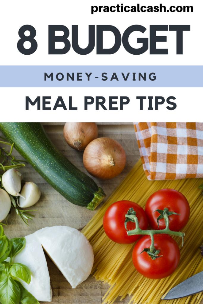 budget meal prep money saving tips