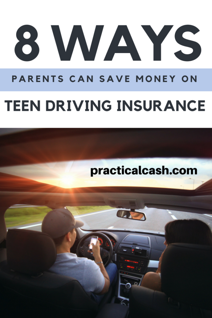 Save money on teen driving insurance