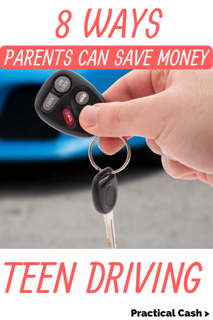 Teen driving insurance tips and how to save money when insuring your teen driver #parenting #teens #teenagers #savemoney #moneysavingtips