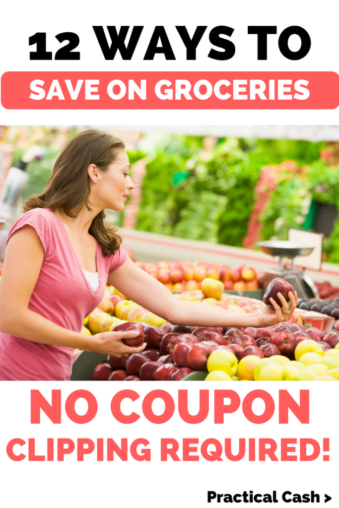 12 Ways to Save Money on Groceries Without Clipping Coupons #savemoney #frugalliving #mealplanning #mealprep #personalfinance #mealprepmondays