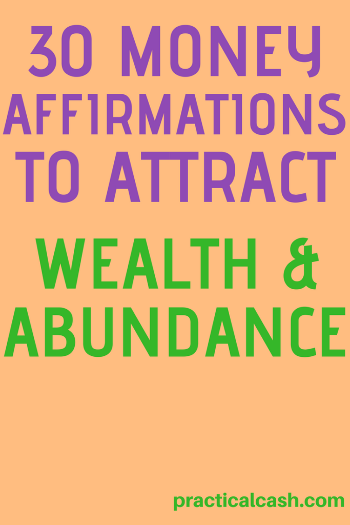 HUGE LIST of money affirmations you can use now to attract wealth and abundance #money #mindset #wealth #abundance #savemoney #moneysavingtips #affirmations #selfhelp