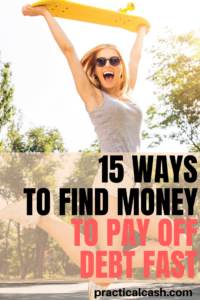 Pay off debt fast with these 15 money management strategies for debt repayment #debt #personalfinance #moneymanagement #frugal