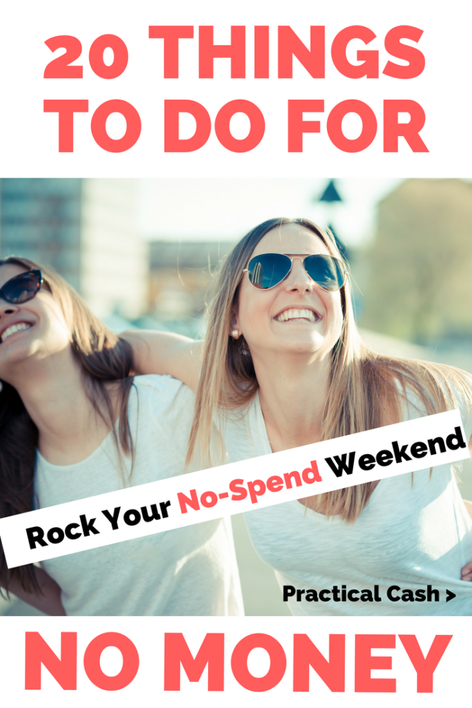 20 Things to Do on a No Spend Weekend #savemoney #nospendchallenge #frugalliving #thingstodo