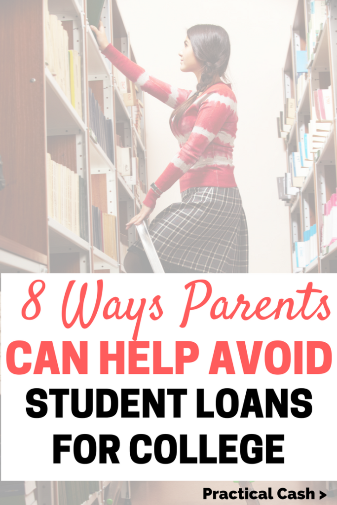 How to avoid student loans for college