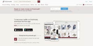 poshmark clothing money making app online