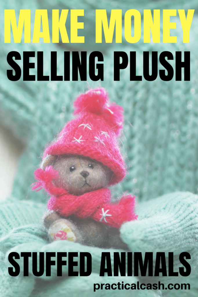 Need some extra cash? Start a side hustle selling plush stuffed animals #makemoneyonline #makemoney #plush #stuffedanimals #nostalgia #sidehustle