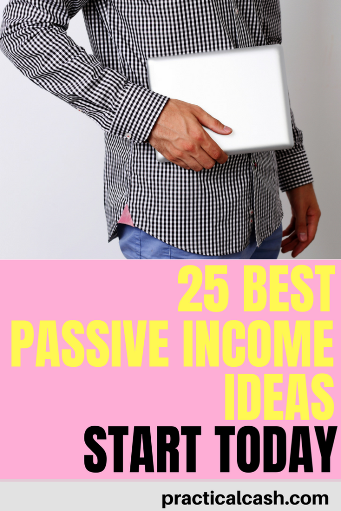 Perfect guide to get started with passive income! 25 FREE ideas for you #makemoney #makemoneyonline #sidehustle #passiveincome