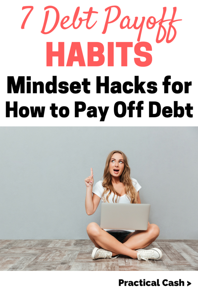 debt payoff habits and how to get out of debt