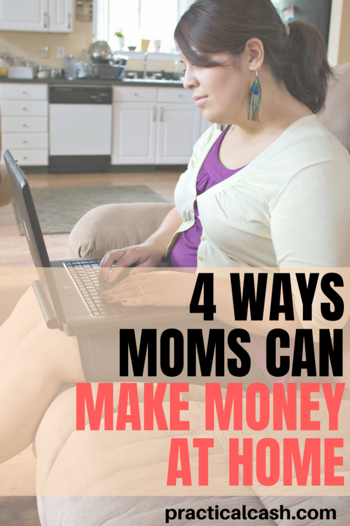 No job necessary! Details on some of the best stay at home mom jobs and how to start #sidehustle #makemoney #makemoneyonline #sahm