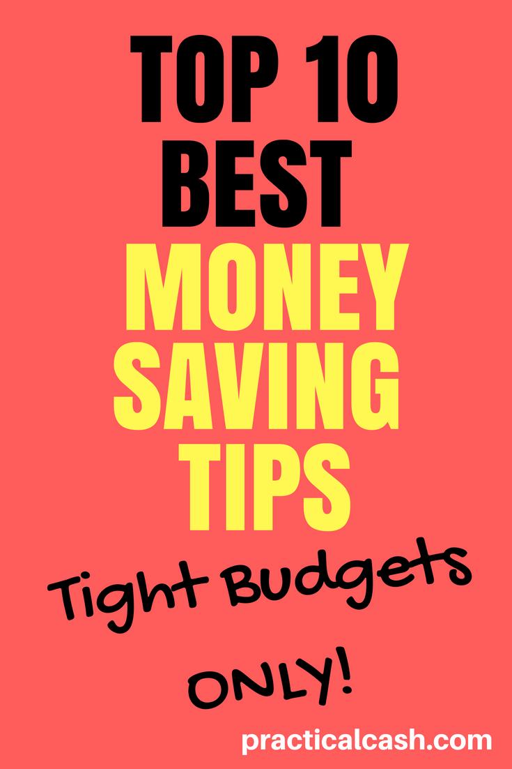 10 Money Saving Tips for Your Tight Budget #frugalliving #savemoney #budgeting #personalfinance #howtosavemoney #moneymanagement