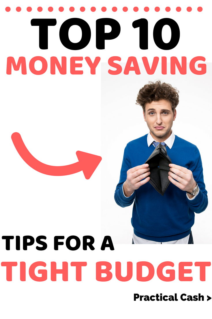 10 Money Saving Tips for Your Tight Budget #frugalliving #savemoney #budgeting #personalfinance #howtosavemoney #moneymanagement