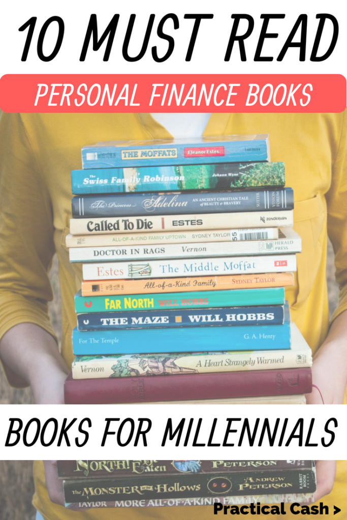 15 money books every millennial should add to their personal finance books reading list #personalfinance #moneymanagement #moneybooks #reading #read #millennials