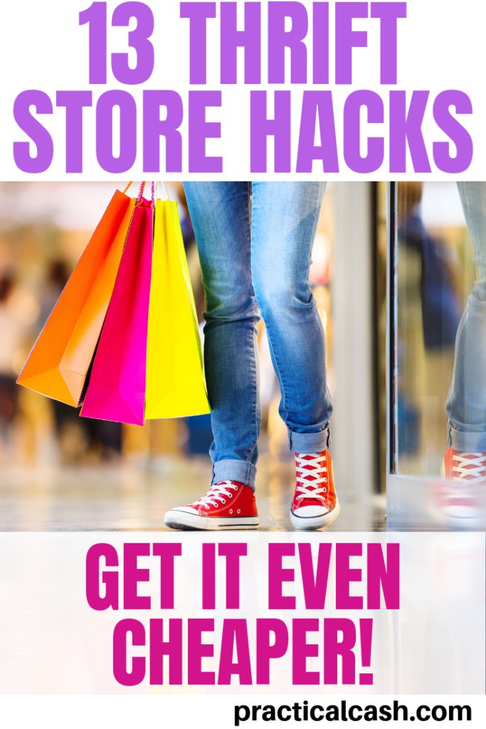 thrift store shopping hacks