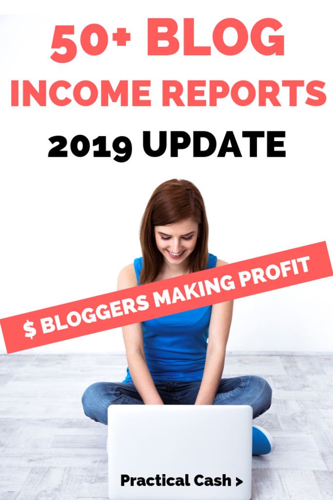 Blogging income reports