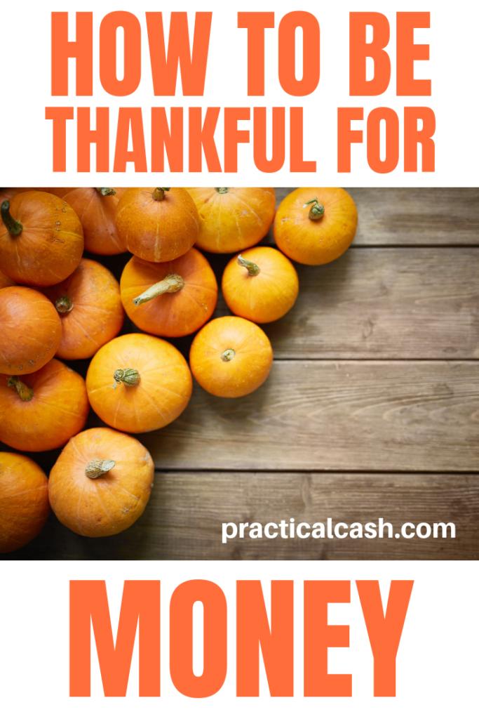 grateful for money