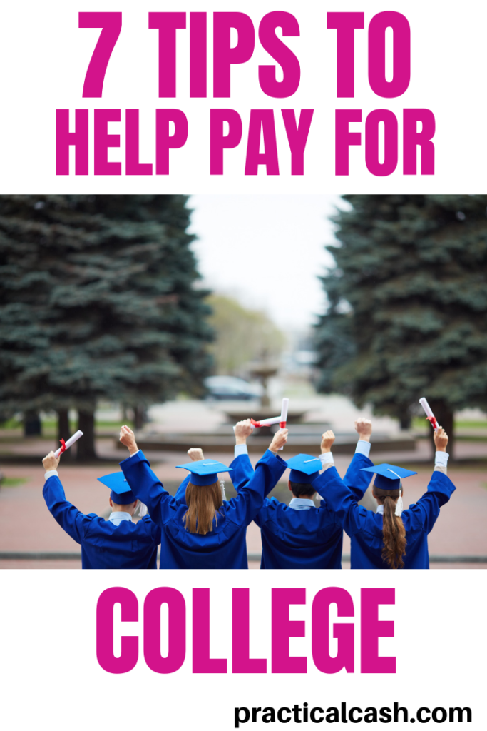 Ready to make a college money plan? These college money tips can save you some cash #college #personalfinance #savemoney #moneymanagement #education #debt
