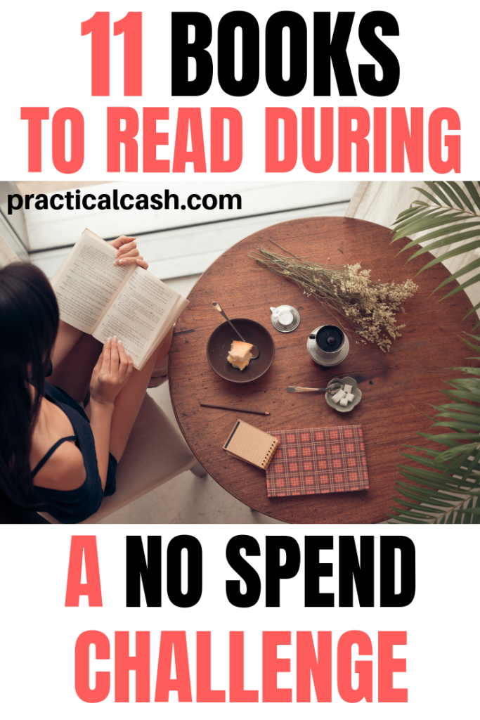 11 Best Books to Read during a Save Challenge or No Spend Challenge #savingmoney #savechallenge #nospend #spendingfreeze #frugalliving
