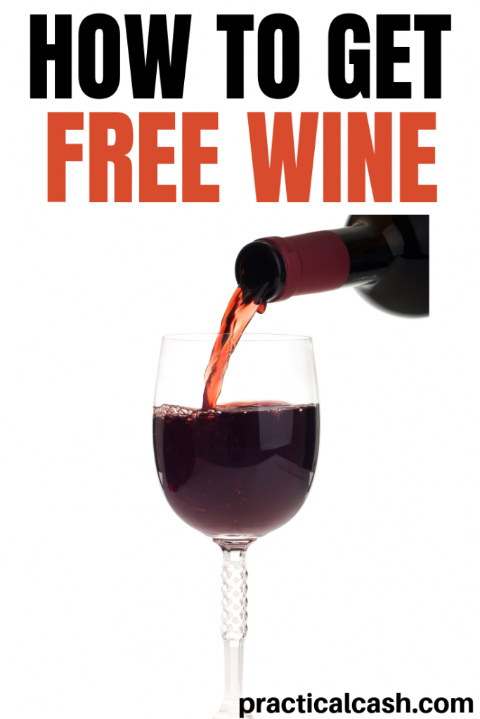 free wine pouring from bottle