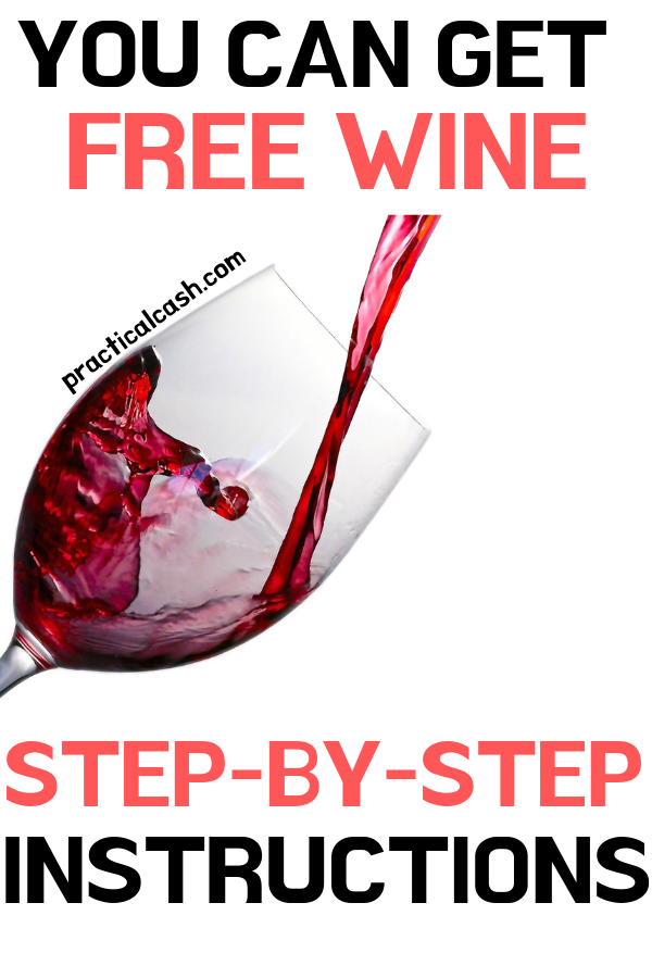 free wine pouring from bottle to glass
